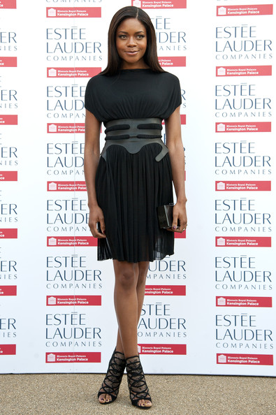 Naomie Harris Little Black Dress