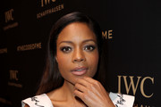 Naomie Harris Leather Band Quartz Watch