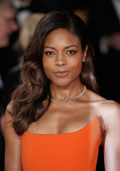 Naomie Harris Diamond Tennis Necklace