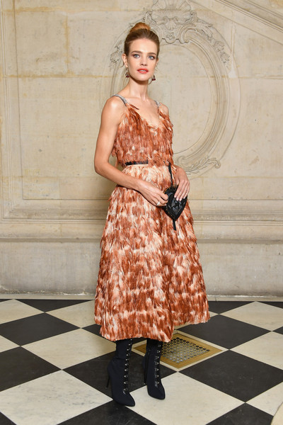Natalia Vodianova Cocktail Dress