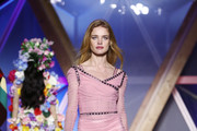Natalia Vodianova Form-Fitting Dress