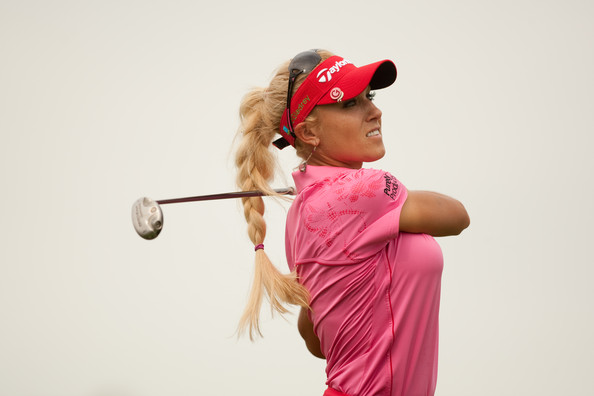 Natalie Gulbis Long Braided Hairstyle