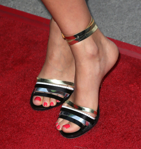 Nathalie Kelley Strappy Sandals