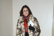 Nati Abascal Fur Coat
