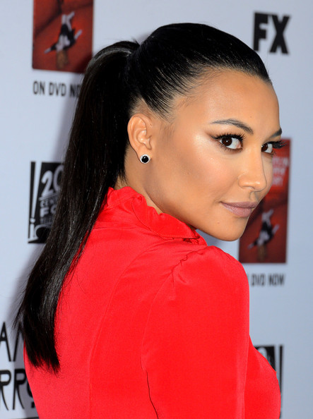Naya Rivera Ponytail