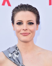 Gillian Jacobs brushed her hair back into a mildly messy chignon for the Netflix Emmy season casting event.