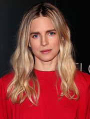 Brit Marling attended the Netflix FYSEE kickoff event wearing her hair in casual-chic waves.