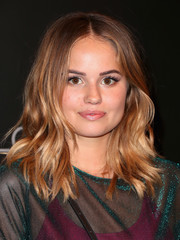 Debby Ryan looked cute with her boho waves at the Netflix FYSEE kickoff event.