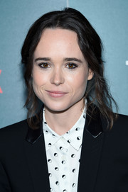 Ellen Page kept it relaxed with this messy updo at the special screening of 'Tallulah.'