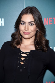Sophie Simmons showed off perfect curls at the special screening of 'Tallulah.'