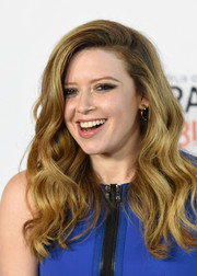 Natasha Lyonne looked fabulous with her lush waves during the 'Orange is the New Black' panel discussion.