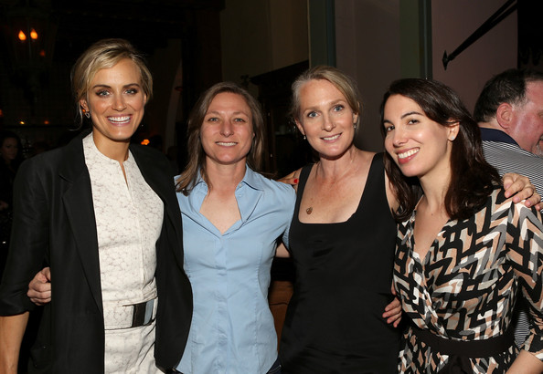 More Pics of Taylor Schilling Red Nail Polish (1 of 16) - Taylor Schilling Lookbook - StyleBistro [orange is the new black,original content,event,fashion,fun,party,smile,taylor schilling,piper kerman,nina wolarsky,vp,netflix presents,l-r,netflix,special screening]