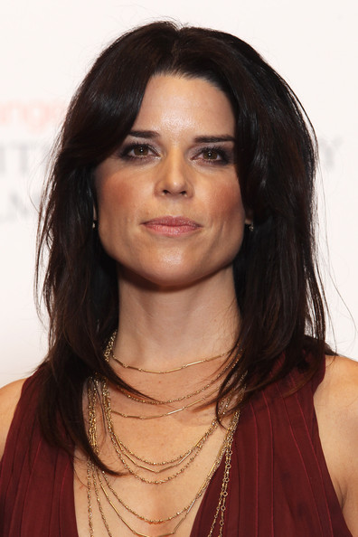 Neve Campbell Smoky Eyes