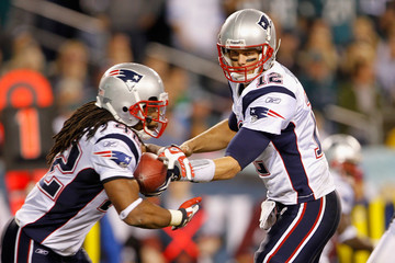 Tom Brady Benjarvus Green-ellis New England Patriots v Philadelphia Eagles