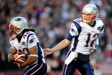 Tom Brady Benjarvus Green-ellis New England Patriots v Washington Redskins