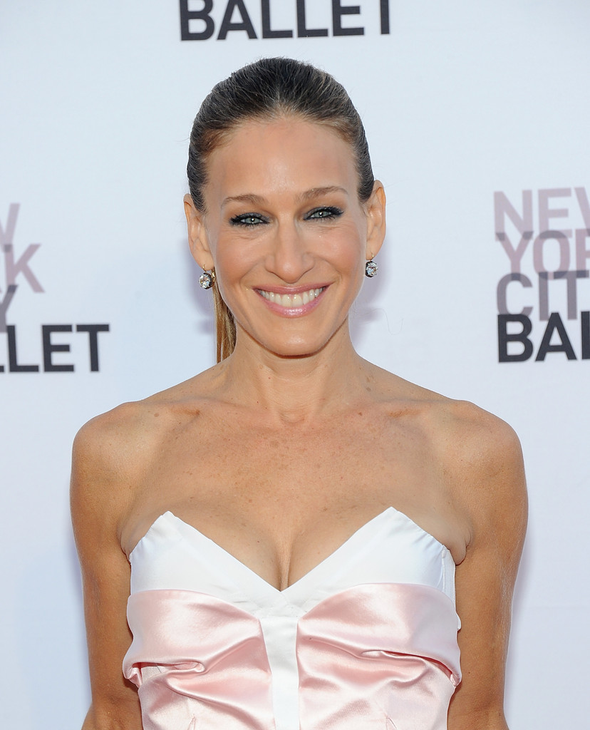 Sarah Jessica Parker Kohl Rimmed Eyes Line Them Up