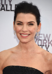 Julianna Margulies attended the New York City Ballet Fall Gala wearing her hair in a messy updo.
