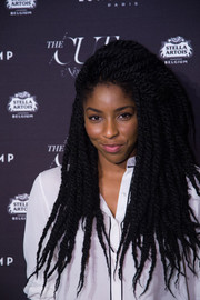 Jessica Williams attended the New York Magazine & The Cut Fashion Week party looking hip with her long dreadlocks.