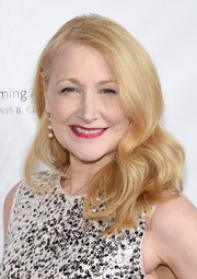 Patricia Clarkson looked lovely with her vintage-style curls at the New York Public Library for the Performing Arts' 50th Anniversary Gala.