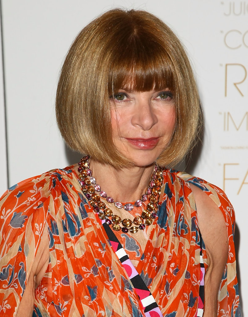 Anna Wintour Banned Ariana Grande From Wearing Ponytail: More Pics Of Anna Wintour Bob (15 Of 20)