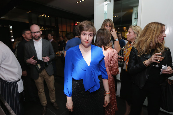 More Pics of Lena Dunham Ruffle Blouse (1 of 6) - Lena Dunham Lookbook - StyleBistro