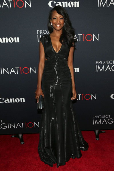 Nichole Galicia Evening Dress