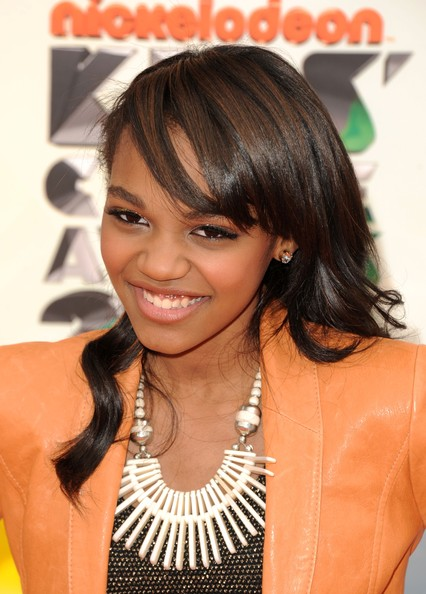 More Pics of China Anne Mcclain Long Side Part (3 of 4) - China Anne Mcclain Lookbook - StyleBistro
