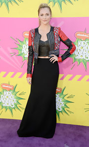 Alyson Stoner chose this basic black skirt for her edgy and rocker-inspired look at the Kids' Choice Awards.