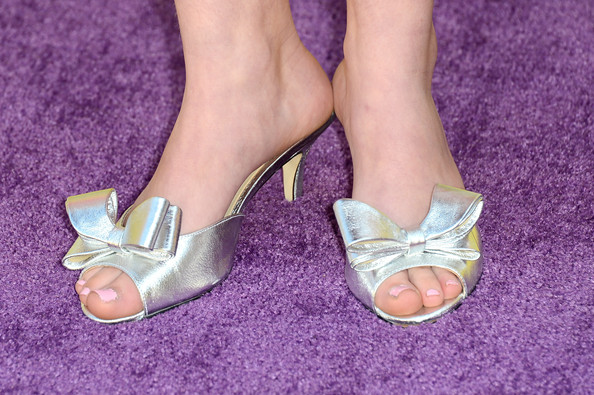 More Pics of Willow Shields Kitten Heels (1 of 4) - Willow Shields Lookbook - StyleBistro