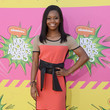 Gabrielle Douglas at Nickelodeon's 26th Annual Kids' Choice Awards 2013