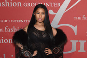Nicki Minaj Evening Coat
