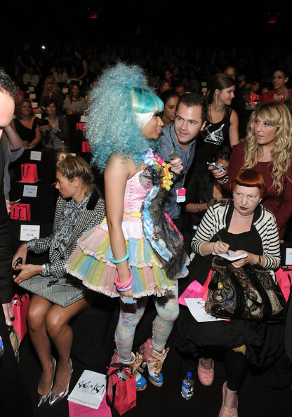Betsey Johnson - Front Row - Spring 2012 Mercedes-Benz Fashion Week