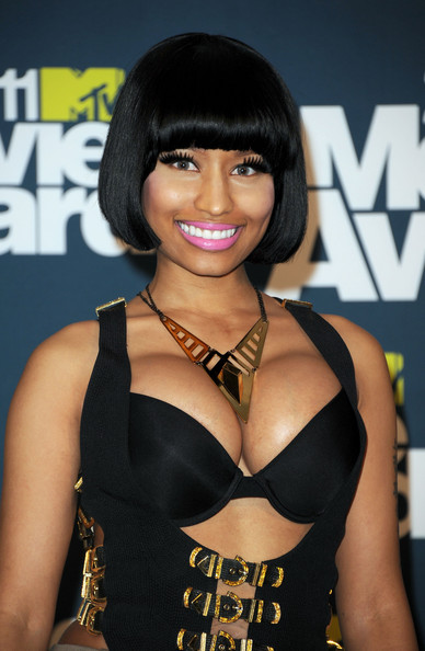 Nicki Minaj Gold Statement Necklace