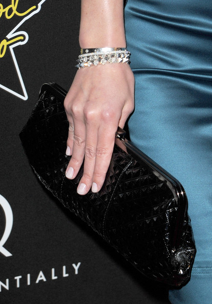 Nicky Hilton Patent Leather Clutch