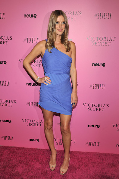 Nicky Hilton One Shoulder Dress