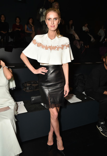 Nicky Hilton Rothschild Mini Skirt