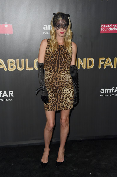 Nicky Hilton Rothschild Print Dress