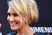 Nicky Whelan Bobby Pinned updo