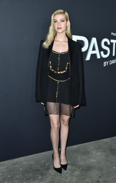 Nicola Peltz Beaded Dress