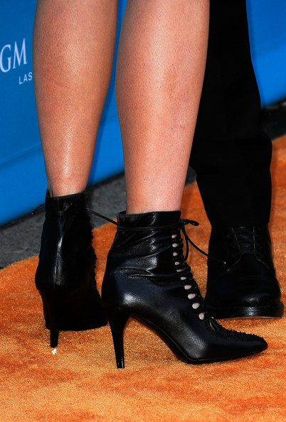 Nicole Kidman Lace Up Boots