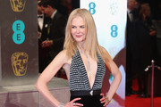 Nicole Kidman Halter Dress