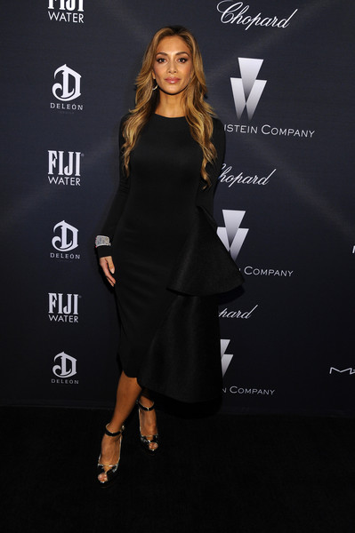 Nicole Scherzinger Little Black Dress