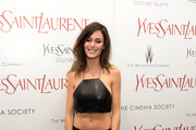 Nicole Trunfio Crop Top