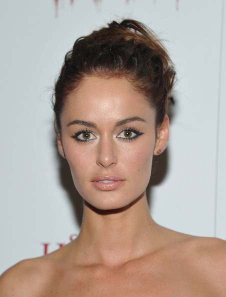 Nicole Trunfio Bobby Pinned Updo