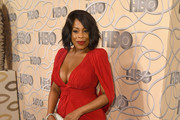 Niecy Nash Shoulder Pad Dress
