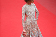 Nieves Alvarez Beaded Dress