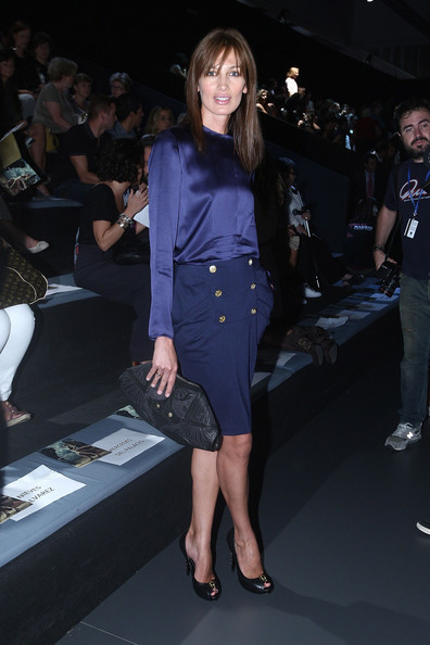 Nieves Alvarez Leather Clutch