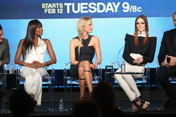 Nigel Barker Karolina Kurkova 2013 Winter TCA Tour - Day 4
