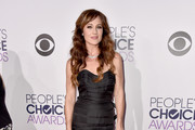Nikki Deloach Strapless Dress