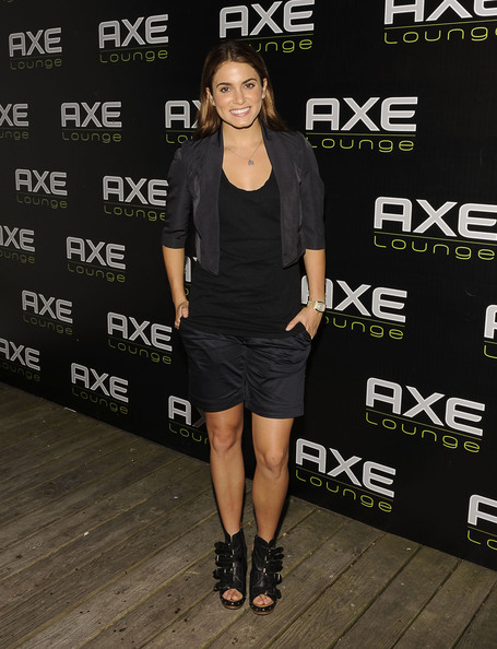 Nikki Reed Ankle Boots [the twilight saga: eclipse,clothing,fashion,footwear,dress,little black dress,joint,cocktail dress,event,fashion model,shoe,celebrities,nikki reed,southampton,axe lounge,new york,fourth of july]